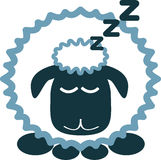 κοιμισμένα πρόβατα Στοκ εικόνες με δικαίωμα ελεύθερης χρήσης