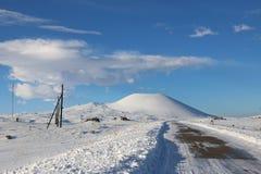 κοιμισμένο ηφαίστειο Στοκ Εικόνα
