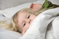κοιμισμένο μειωμένο κορίτσι Στοκ Φωτογραφίες