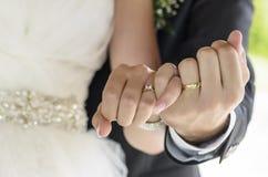 Κοινή εικόνα της ημέρας γάμου Στοκ φωτογραφίες με δικαίωμα ελεύθερης χρήσης