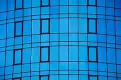 Κοινοί σύγχρονοι επιχειρησιακοί ουρανοξύστες στοκ εικόνα