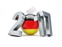 Κοινοβουλευτικές εκλογές στη Γερμανία 2017 Στοκ Εικόνα