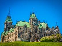Κοινοβουλευτικός περίβολος του Καναδά Στοκ Εικόνες