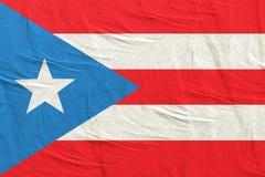 Κοινοπολιτεία του κυματισμού σημαιών του Πουέρτο Ρίκο στοκ εικόνες