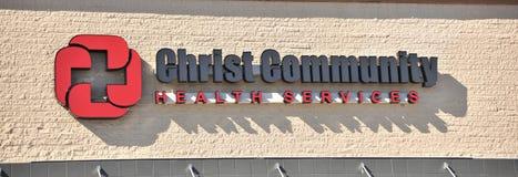 Κοινοτικές υγειονομικές υπηρεσίες Χριστού Στοκ εικόνα με δικαίωμα ελεύθερης χρήσης