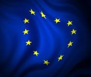 κοινοτική ευρωπαϊκή σημαία Στοκ Φωτογραφίες