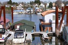 κοινοτικός ποταμός του Πόρτλαντ εδάφους Στοκ εικόνα με δικαίωμα ελεύθερης χρήσης