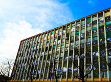 Κοινοτικό κτήριο στο Λουμπλιάνα Στοκ Φωτογραφίες