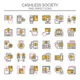 Κοινωνία Cashless απεικόνιση αποθεμάτων
