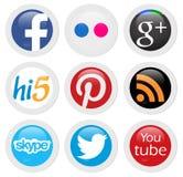 Κοινωνικά δίκτυα Στοκ Εικόνα