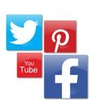 Κοινωνικά δίκτυα Στοκ Εικόνες