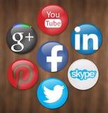 Κοινωνικά δίκτυα Στοκ φωτογραφίες με δικαίωμα ελεύθερης χρήσης