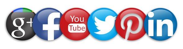 Κοινωνικά δίκτυα στοκ φωτογραφία με δικαίωμα ελεύθερης χρήσης