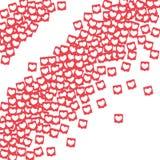 Κοινωνικά εικονίδια μέσων Στοκ φωτογραφίες με δικαίωμα ελεύθερης χρήσης