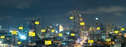 Κοινωνικά μέσα και ψηφιακό δίκτυο στοκ φωτογραφία με δικαίωμα ελεύθερης χρήσης