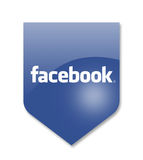 Κοινωνικά μέσα facebook Στοκ Εικόνες