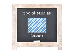 Κοινωνικές μελέτες με τη σημαία εν πλω Στοκ Εικόνες