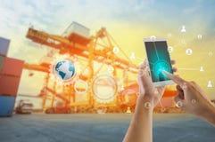 Κοινωνικές σύνδεση και δικτύωση για λογιστικό Στοκ εικόνες με δικαίωμα ελεύθερης χρήσης
