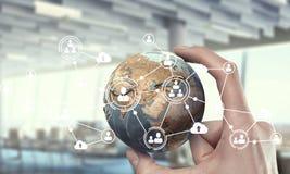 Κοινωνικές σύνδεση και δικτύωση Μικτά μέσα Μικτά μέσα Στοκ φωτογραφία με δικαίωμα ελεύθερης χρήσης