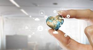 Κοινωνικές σύνδεση και δικτύωση Μικτά μέσα Μικτά μέσα Στοκ Φωτογραφία