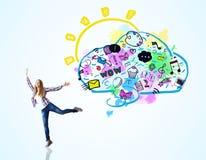 Κοινωνική έννοια μέσων απεικόνιση αποθεμάτων
