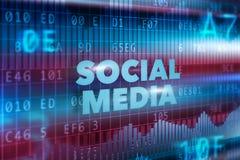 Κοινωνική έννοια τεχνολογίας μέσων Στοκ φωτογραφία με δικαίωμα ελεύθερης χρήσης