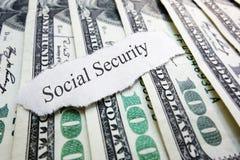 Κοινωνική ασφάλιση Στοκ Εικόνα
