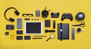Κοινωνική εικόνα επιγραφών ηρώων έννοιας μέσων Στοκ Εικόνες