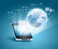Κοινωνική επικοινωνία δικτύων διανυσματική απεικόνιση