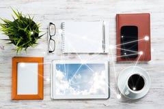 Κοινωνική επικοινωνία και σφαιρική έννοια δικτύωσης στοκ εικόνες με δικαίωμα ελεύθερης χρήσης