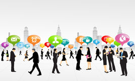 Κοινωνική επιχείρηση εργασίας διανυσματική απεικόνιση