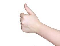 Κοινωνική δικτύωση χεριών Laik στοκ εικόνα