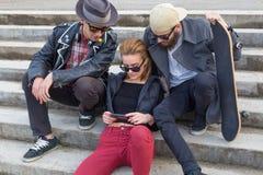 Κοινωνική δικτύωση Στοκ Φωτογραφία