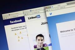 Κοινωνική δικτύωση Στοκ εικόνα με δικαίωμα ελεύθερης χρήσης