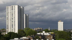 Κοινωνική κατοικία UK στοκ φωτογραφία με δικαίωμα ελεύθερης χρήσης