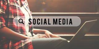 Κοινωνική μέσων δικτύων έννοια Διαδικτύου Ιστού σε απευθείας σύνδεση Στοκ φωτογραφία με δικαίωμα ελεύθερης χρήσης