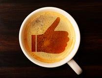 Κοινωνικός καφές. στοκ εικόνες