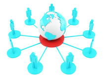 Κοινωνικό δίκτυο στοκ εικόνες με δικαίωμα ελεύθερης χρήσης