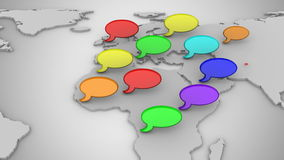 Κοινωνικό δίκτυο διανυσματική απεικόνιση