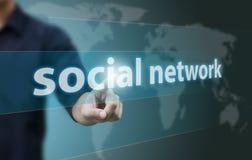 Κοινωνικό δίκτυο Στοκ Φωτογραφίες
