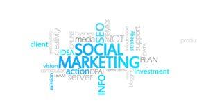 Κοινωνικό μάρκετινγκ, ζωντανεψοντη τυπογραφία ελεύθερη απεικόνιση δικαιώματος