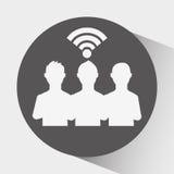 Κοινωνικό σχέδιο δικτύων Στοκ φωτογραφίες με δικαίωμα ελεύθερης χρήσης