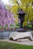 κοινός κήπος δημόσιες ΗΠΑ της Βοστώνης στοκ εικόνα