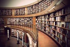κοινό βιβλιοθηκών Στοκ Φωτογραφία