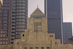 κοινό βιβλιοθηκών Los της Angeles Στοκ φωτογραφία με δικαίωμα ελεύθερης χρήσης