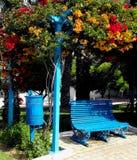 κοινό κήπων πάγκων στοκ φωτογραφία