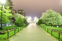 κοινό μονοπάτι της Βοστώνη&si Στοκ Φωτογραφία