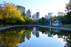 Κοινό πάρκο της Βοστώνης Στοκ φωτογραφία με δικαίωμα ελεύθερης χρήσης
