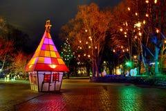 κοινό πάρκων διακοσμήσεων Στοκ εικόνες με δικαίωμα ελεύθερης χρήσης