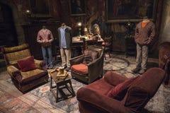 Κοινό δωμάτιο Gryffindor στοκ εικόνα με δικαίωμα ελεύθερης χρήσης